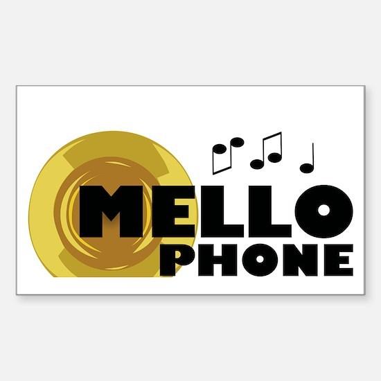 Unique Mellophone Sticker (Rectangle)