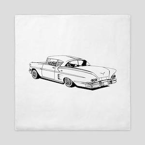Shelby Mustang Cobra car Queen Duvet