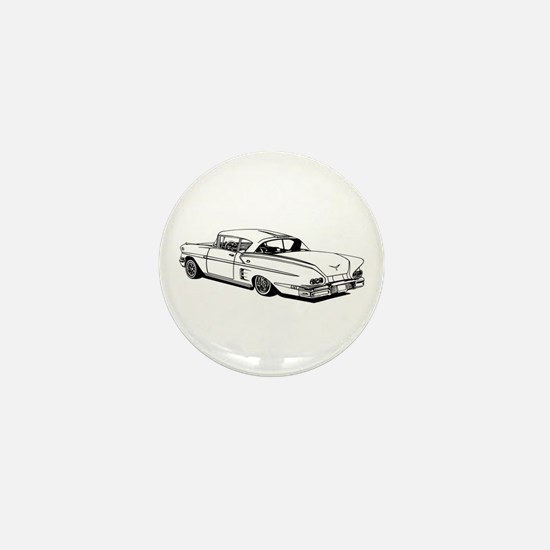 Shelby Mustang Cobra car Mini Button