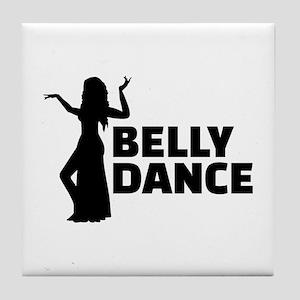 Belly dance Tile Coaster