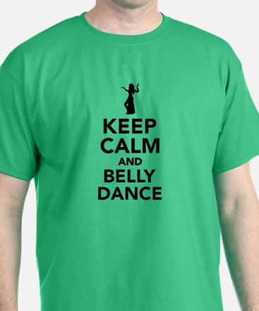Keep calm and belly dance T-Shirt