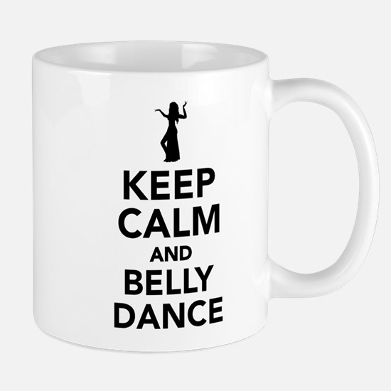 Keep calm and belly dance Mug