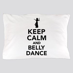 Keep calm and belly dance Pillow Case