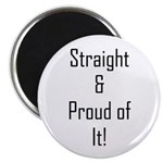 Straight Proud of It (L) Magnets