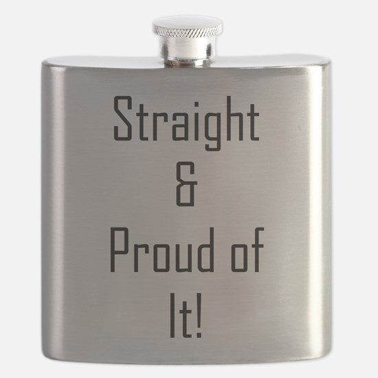 Straight Proud of It (L) Flask