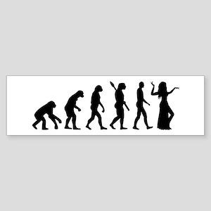 Evolution Belly dance Sticker (Bumper)