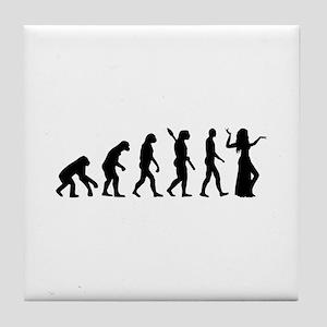 Evolution Belly dance Tile Coaster