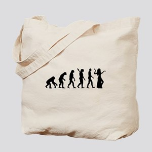 Evolution Belly dance Tote Bag