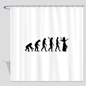 Evolution Belly dance Shower Curtain