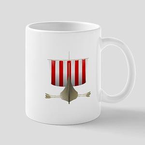 Viking longship Mugs