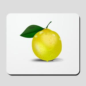 Lemon photorealistic Mousepad
