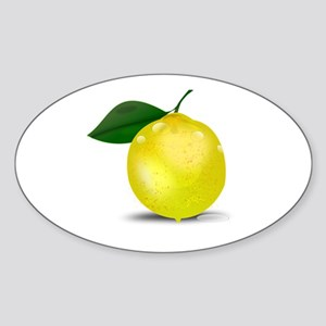 Lemon photorealistic Sticker