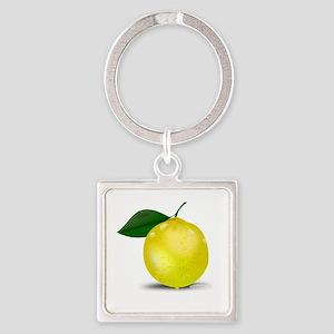 Lemon photorealistic Keychains