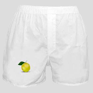 Lemon photorealistic Boxer Shorts