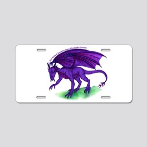 Royal Dragon Aluminum License Plate
