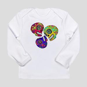 3 Little Sugar Skulls Long Sleeve T-Shirt