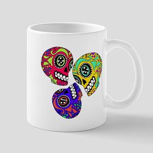 3 Little Sugar Skulls Mugs