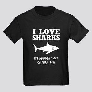 I Love Sharks, It's People That Scare Me T-Shirt