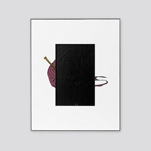 Knitting yarn needles Picture Frame