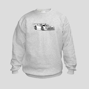 Lamborghini Countach image Kids Sweatshirt