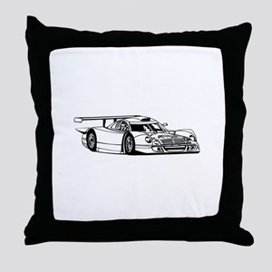 Lamborghini Countach image Throw Pillow