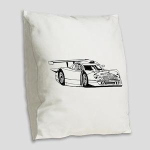 Lamborghini Countach image Burlap Throw Pillow