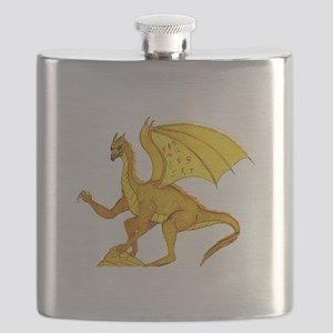 gold dragon Flask