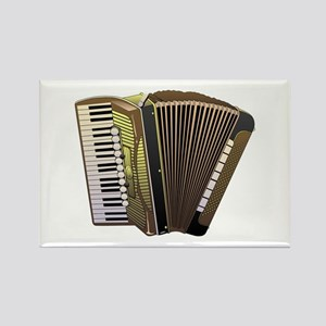 Brown Accordian Magnets