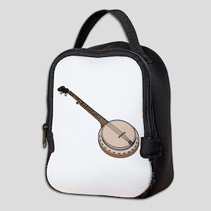 Wooden Banjo Neoprene Lunch Bag