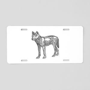 Dingo Aluminum License Plate