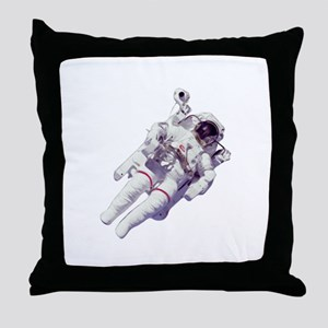 Astronaut Small Version Throw Pillow
