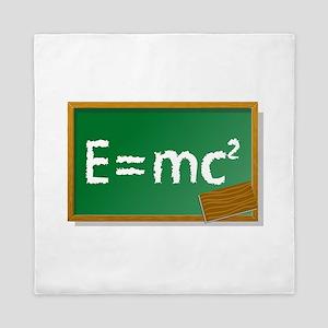 Einstein formula Queen Duvet