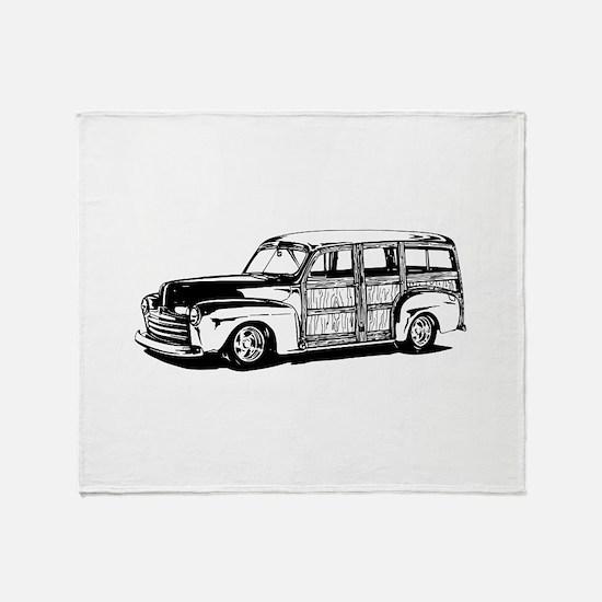 Toyota XB Scion Throw Blanket