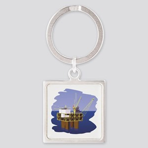 Oil rig Keychains
