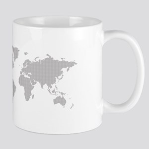 Dotted worldmap Mugs