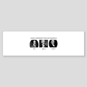 Hamilton SMFDRs main Bumper Sticker