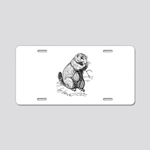 Prairie dog Aluminum License Plate
