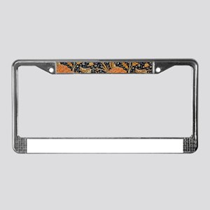 Floral by William Morris License Plate Frame