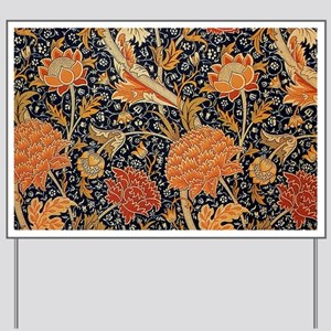 Floral by William Morris Yard Sign