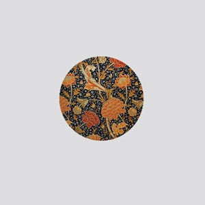Floral by William Morris Mini Button