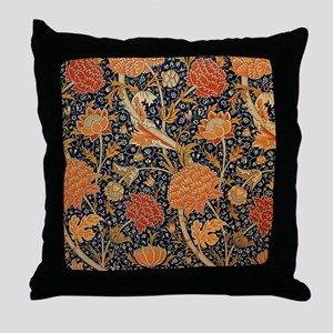 Floral by William Morris Throw Pillow