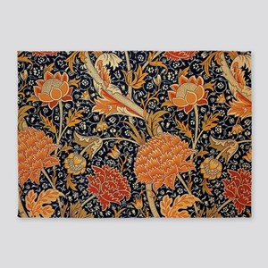 Floral by William Morris 5'x7'Area Rug