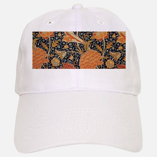 Floral by William Morris Baseball Hat
