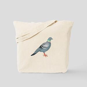 Grey pigeon Tote Bag