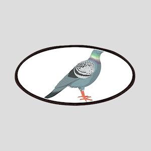 Grey pigeon Patch