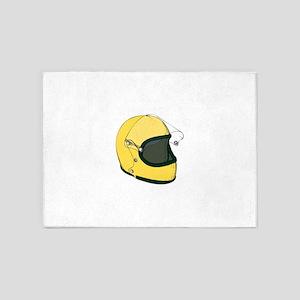 Crash Helmet 5'x7'Area Rug