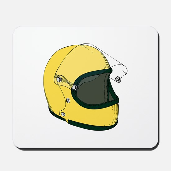 Crash Helmet Mousepad