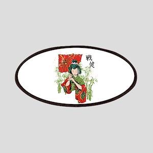 Designious geisha tshirt Patch
