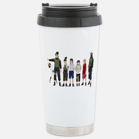 Anime characters Stainless Steel Travel Mug