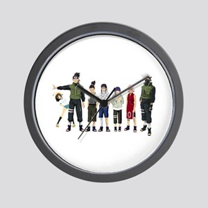 Anime characters Wall Clock